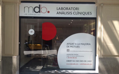 Laboratorio analisis clinicos en Barcelona Aribau