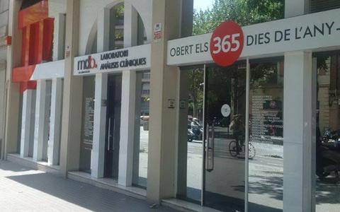 Laboratorio de análisis en Barcelona - Urgell