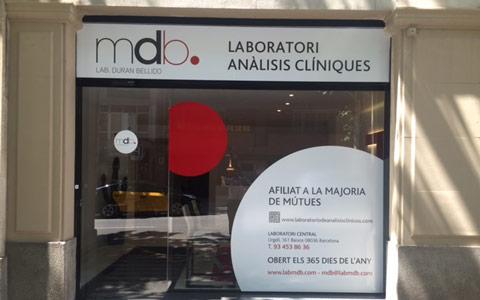 Laboratorio de análisis clínicos en Barcelona - Aribau