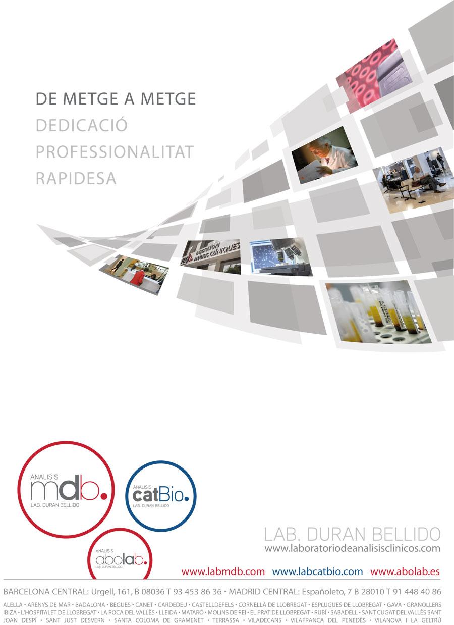 col·legi de metges laboratorios analisis clinicos mdb anuncio