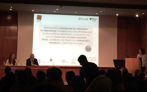 mdb en la presentación del estudio nutricional de la Fundacion Finestrelles