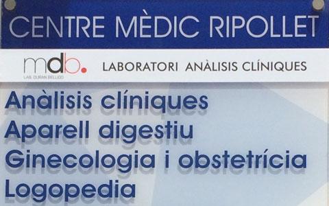 Laboratorio de análisis clínicos en Ripollet