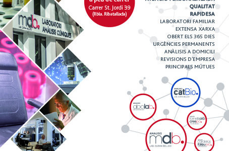 El laboratorio de análisis mdb de Sant Cugat se traslada