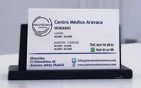 Acuerdo de colaboración con el Centro de Reconocimientos MédicosAravaca